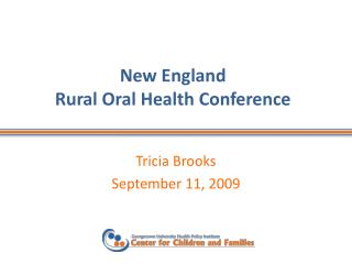 New England  Rural Oral Health Conference