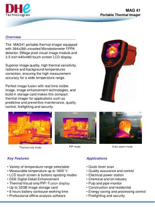 MAG 41 Portable Thermal Imager