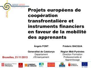 Àngels FONT Generalitat de Catalunya Departament d'Ensenyament