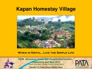 Kapan Homestay Village