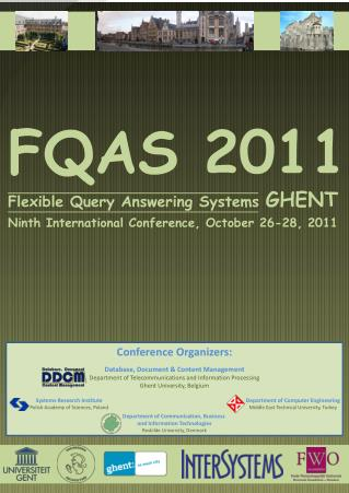 FQAS 2011 Flexible Query Answering Systems  GHENT