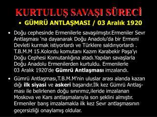 KURTULUS SAVASI S RECI