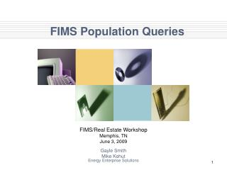 FIMS Population Queries