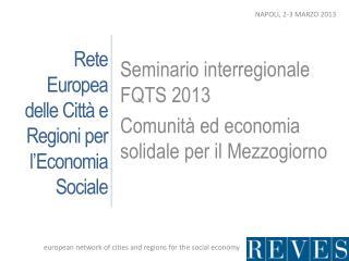 Rete Europea delle Città e Regioni per l'Economia Sociale
