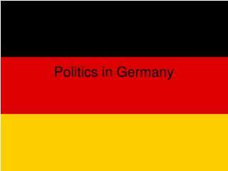 Politics in Germany