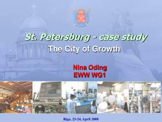 St. Petersburg - case study