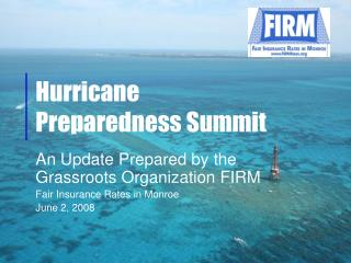 Hurricane  Preparedness Summit