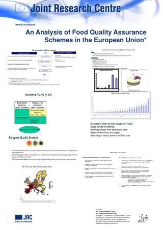 An Analysis of Food Quality Assurance Schemes in the European Union*
