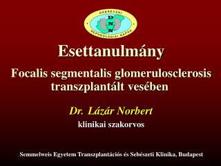 Dr. Lázár Norbert