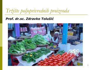 Tržište poljoprivrednih proizvoda