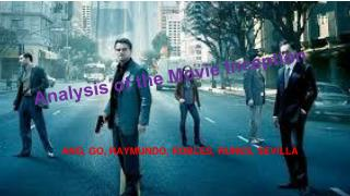 Analysis of the Movie Inception