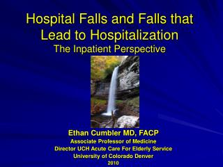 Hospital Falls and Falls that Lead to Hospitalization The Inpatient Perspective
