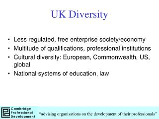 UK Diversity
