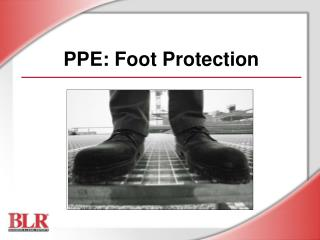 PPE: Foot Protection
