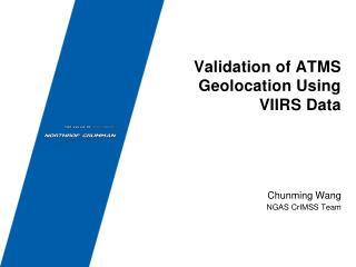 Validation of ATMS Geolocation Using VIIRS Data
