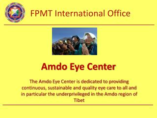Amdo  Eye Center