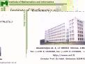 Institute of Mathematics and Informatics