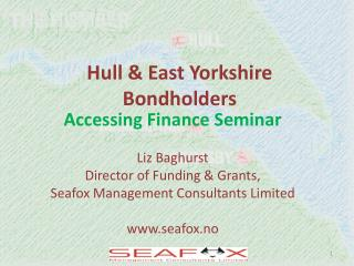Hull & East Yorkshire Bondholders