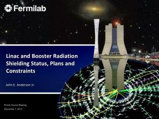 Linac and Booster Radiation Shielding Status, Plans and Constraints