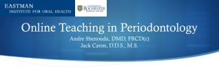 Online Teaching in Periodontology