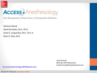 AccessAnesthesiology.MHMedical