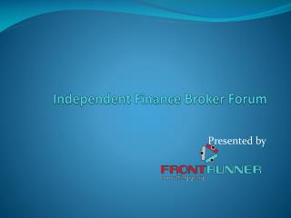 Independent Finance Broker Forum