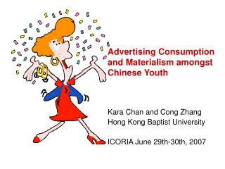 Advertising Consumption and Materialism amongst Chinese Youth