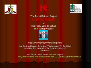 Your Continued Support Throughout This Campaign Will Be Critical   Let s Make This Happen For The Piney Woods School One