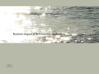 Business impact of Rich Internet Application