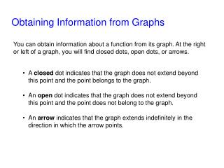 Obtaining Information from Graphs