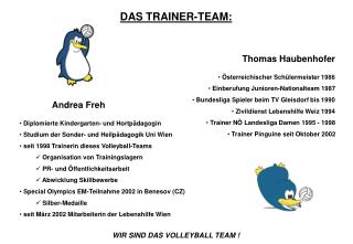 DAS TRAINER-TEAM: