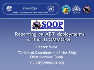 Reporting on XBT deployments within JCOMMOPS