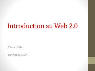 Introduction au Web 2.0