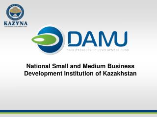 National Small and Medium Business Development Institution of Kazakhstan