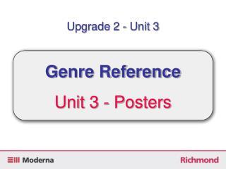 Upgrade 2 - Unit 3