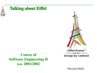 Course of Software Engineering II a.a. 2001/2002