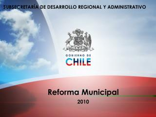Reforma Municipal 2010
