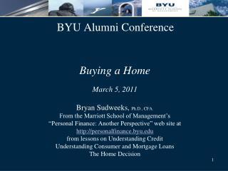 BYU Alumni Conference