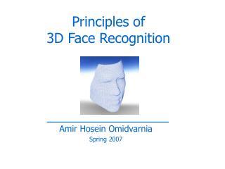 Amir Hosein Omidvarnia Spring 2007