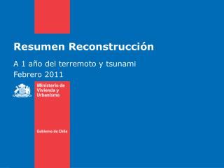Resumen Reconstrucción