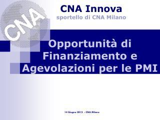 Opportunità di Finanziamento e Agevolazioni per le PMI