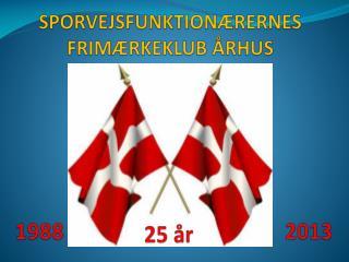 SPORVEJSFUNKTIONÆRERNES FRIMÆRKEKLUB ÅRHUS