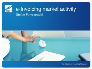 e-Invoicing market activity