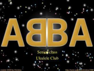 Senior class Ukulele Club