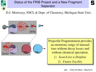 Status of the FRIB Project and a New Fragment Separator