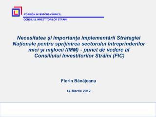 Importanța sectorului IMM