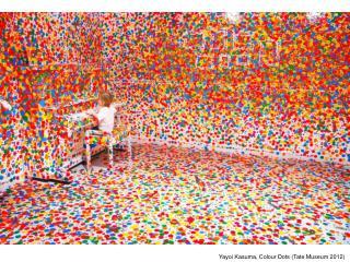 Yayoi Kasuma, Colour Dots (Tate Museum 2012)