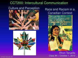 CCT200: Intercultural Communication
