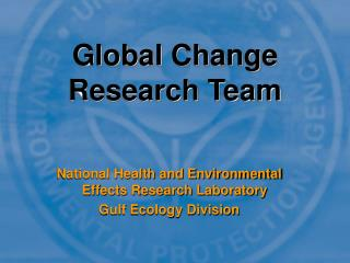 Global Change Research Team
