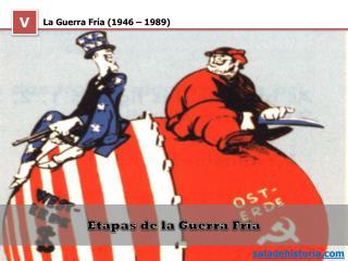 La Guerra Fría (1946 – 1989)